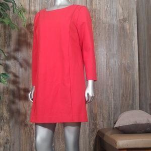 J.crew red dress Large size